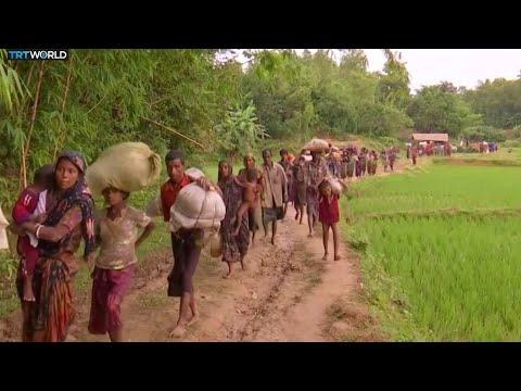 Myanmar Tensions: More than 27,000 Rohingya cross into Bangladesh