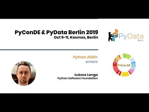 Image from Keynote: Python 2020+ - Lukas Langa