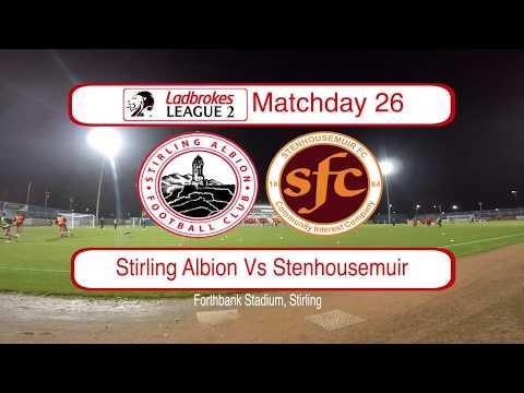 Stirling Stenhousemuir Goals And Highlights