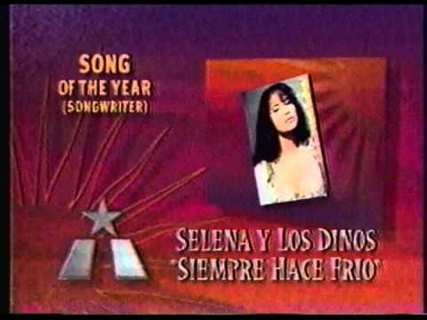 Selena - Song of the Year (1997 Tejano Music Awards)