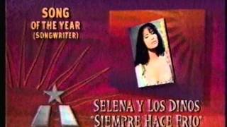Selena - Song of the Year (1997 Tejano Music Awards)