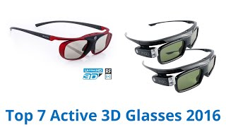 7 Best Active 3D Glasses 2016