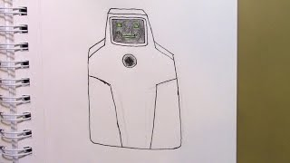 416 - How to Draw Jailbot from SuperJail!