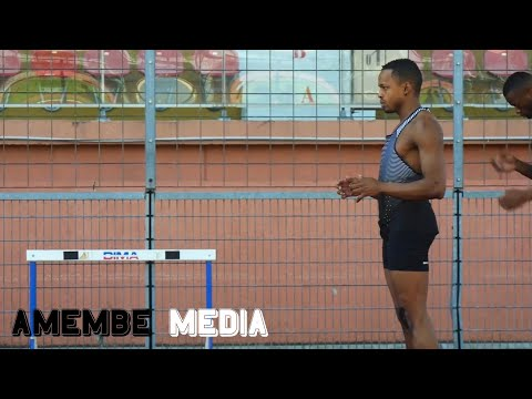 Dimitri Bascou, 110m haies - Elite Training