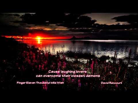 Finger Eleven - Thousand Mile Wish [Lyric Video]