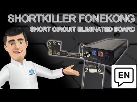 Short Circuit On Eletronic Boards - How To Eliminated It With Short Killer By Fonekong