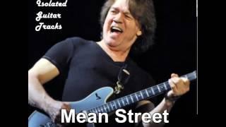 """Van Halen Guitar Track """"Mean Street"""""""