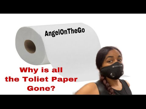 WHY IS ALL THE TOLIET PAPER SELLING OUT? IF YOU HAVEN'T GOTTEN YOURS YET RUN!! HERE'S WHY...