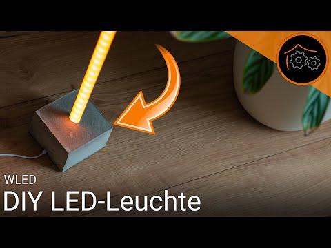 DIY WLED-Leuchte - App und ioBroker-Integration | haus-automatisierung.com [4K]