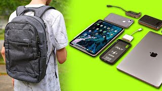 What's In My School TECH Backpack | College Bag Fall 2019