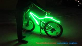 Подсветка для велосипедов Lightonic YarkoBike(Видели Coolest Thing Ever Crazy Glowing Bikes! The Bright Bike! Bicycle LED Lights? http://www.youtube.com/watch?v=8F5QYiG5A4o Теперь такое ..., 2012-06-30T17:31:39.000Z)