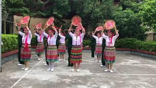 CLB Dưỡng sinh Đồng Hương Từ sơn: múa Tiếng chày trên sóc Bombo
