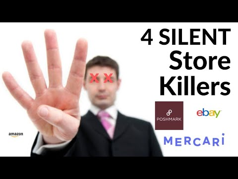 003: How to Fix 4 Things That Kill Every Resale Business (eBay Poshmark, Mercari, Amazon)
