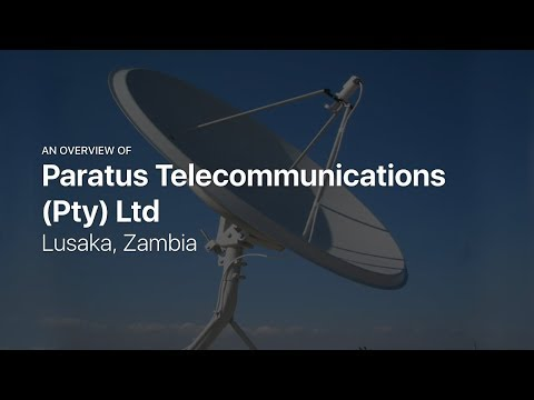 Paratus Telecommunications (Pty) Ltd — Telecoms and IT in Lusaka, Zambia