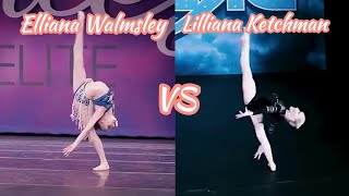 Elliana Walmsley VS Lilliana Ketchman