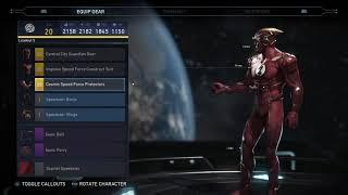 Injustice 2 - Flash Gear Showcase | Full Epic Gear!