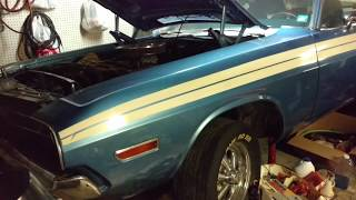 Original 1971 DODGE CHALLENGER R/T with shaker hood FOR SALE