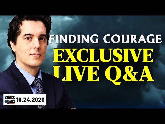 'Finding Courage' Exclusive Live Q&A with Producer Kay Rubacek | Crossroads with JOSHUA PHILIPP