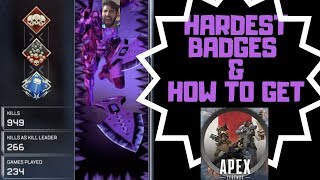 BEST BADGES IN APEX LEGENDS- HOW TO GET THEM
