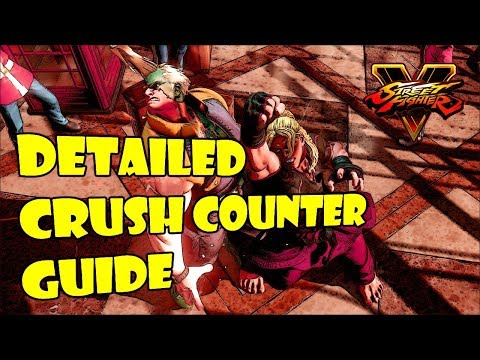 SFV S2.5 Ken - Beginners Guide To Crush Counters (With Commentary)