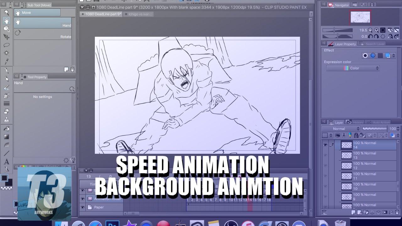 clip studio animation speed