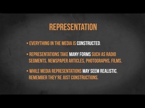 Видео Representation in media essay