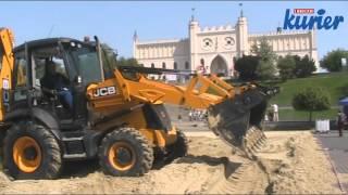 Beach soccer w Lublinie - przygotowania do imprezy