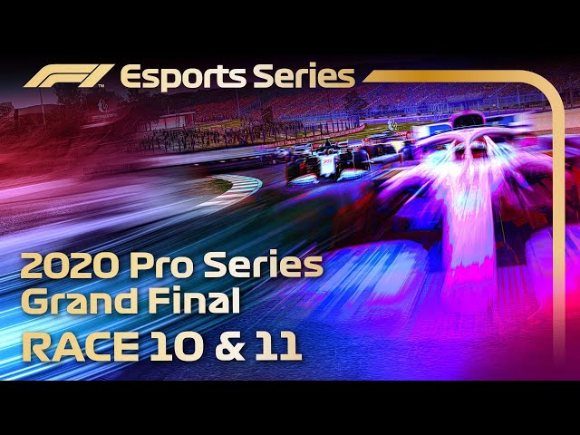 F1 Esports Pro Series 2020: GRAND FINAL, Rounds 10 & 11 LIVE!