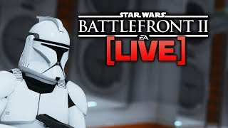 BATTLEFRONT 2 LIVE - Time to level up Sheev!