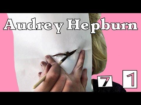$iirin Make-up Tutorial 71. ♥ Audrey Hepburn ♥