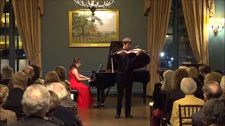 Elgar Violin Concerto by Nathan Meltzer and Jessica Osborne
