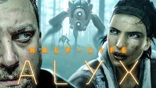 A VILÁG LEGJOBB VR JÁTÉKA?! | Half-Life: Alyx #1