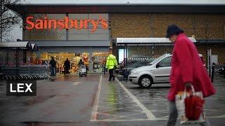 Sainsbury On The Slide