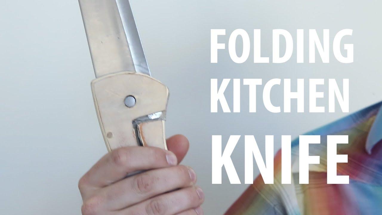Folding Kitchen Knife - YouTube