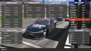 NASCAR Heat Evolution How To: Advanced Setups
