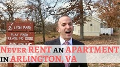 NEVER Rent an Apartment in Arlington | The Video Arlington VA Apartments Don't Want You To See
