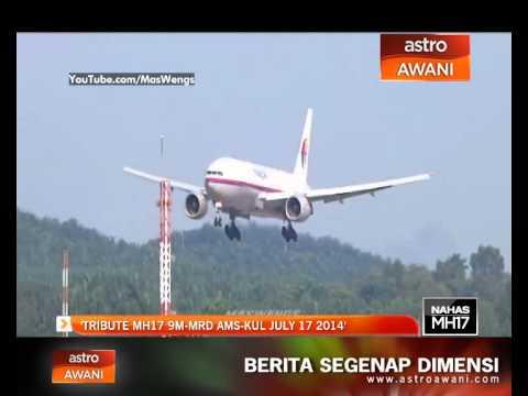 Tribute MH17 9M-MRD