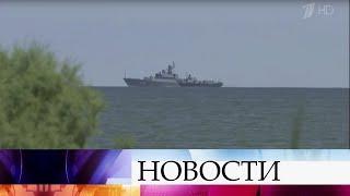 Сергей Шойгу лично проверит строительство спецобъектов в новом месте дислокации Каспийской флотилии.