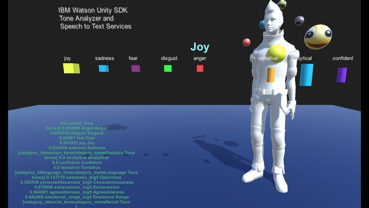 Watson Speech AI meets Unity 3D ScriptableObject | Details