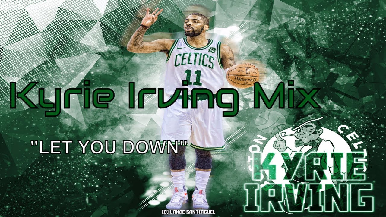 Kyrie Irving Celtics Poster