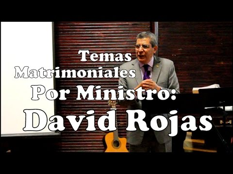 #1, Como ser limpios del pecado, (Ministro David Rojas Aldaco)