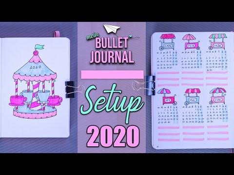 Mein Bullet Journal Setup 2020 - Es Wird BUNT!