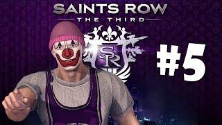 Saints Row The Third кооп #5 - Подставные шлюхи, Адреналин, Голые и пьяные