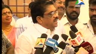 madhyam sudheeran, Trivandrum, Midday News, 06.08.2014, Jaihind TV, Liju Xavier
