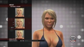 WWE2K16:: How to Create A Diva!! (Xbox 360)