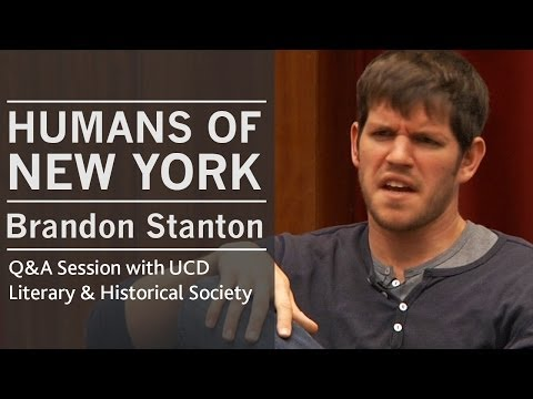 On the quirks of the comments section | Humans of New York creator Brandon Stanton