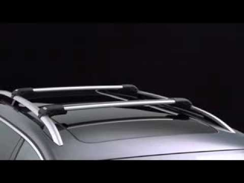 thule wing bar edge youtube. Black Bedroom Furniture Sets. Home Design Ideas