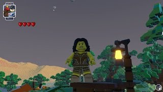 LEGO Worlds - Warrior Woman Free Roam Gameplay (PC HD) [1080p]