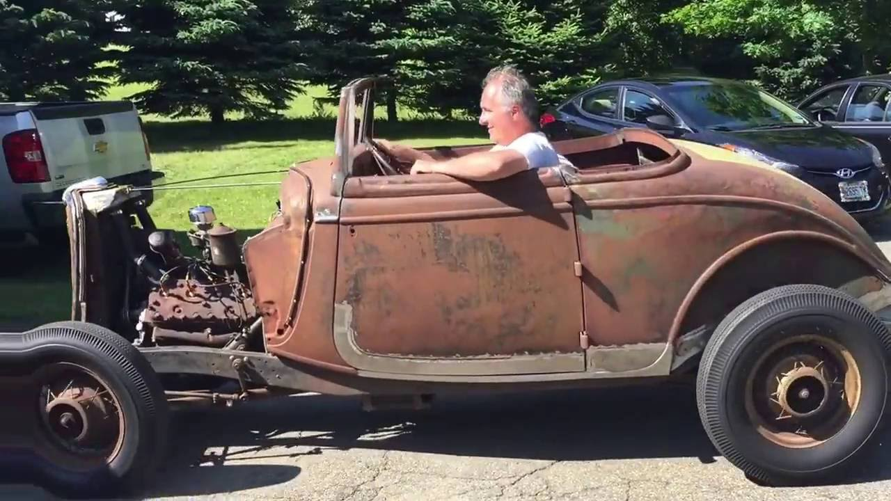 1934 Ford Hotrod Project - YouTube