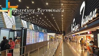 (Travel Vlog) Departure At Taoyuan Airport Terminal 1 Taiwan Travel